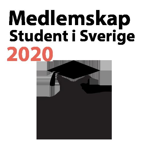 Medlemskap för studenter bosatta i Sverige 2020