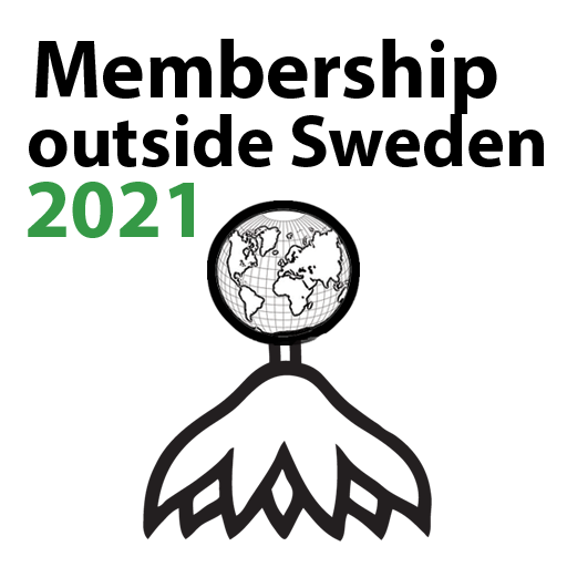 Membership outside Sweden 2021